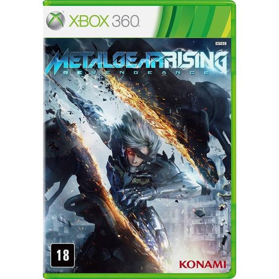 Metal Gear Rising Revengeance Xbox 360 Midia Fisica Novo
