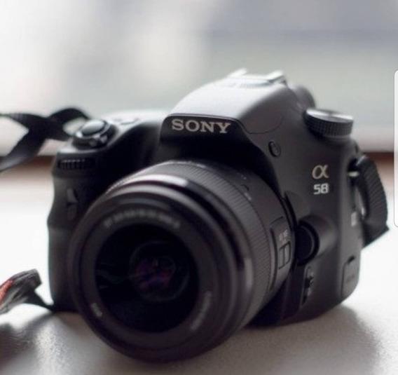 Câmera Fotográfica Sony A 58