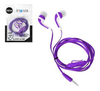 Fone Ouvido Inova C/ Microfone Fon-10052 10031