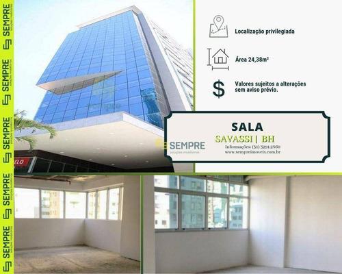 Imagem 1 de 30 de Sala À Venda, 24 M² - Savassi - Belo Horizonte/mg - Sa0128