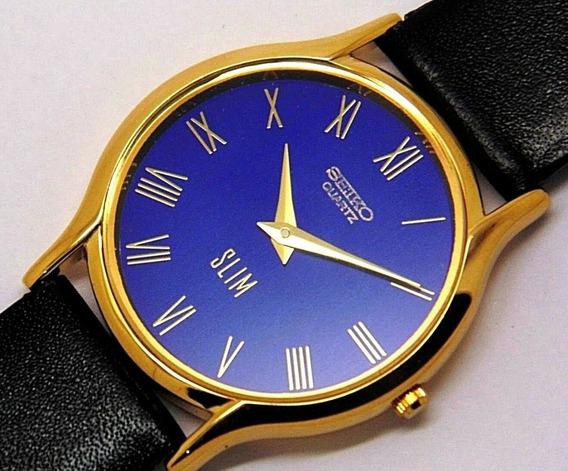 Reloj De Pulsera Seiko Cuarzo Para Hombre Vintage