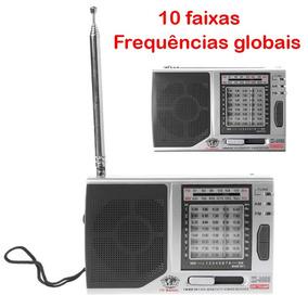 Rádio Kk-9803 | 10 Faixas Hi-sense | Estações Globais |am/fm