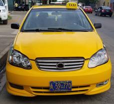 Taxi Corolla 2003 Placas De San Miguel
