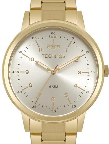 Relogio Technos Feminino Elegance Dourado - 2035mpo/4b