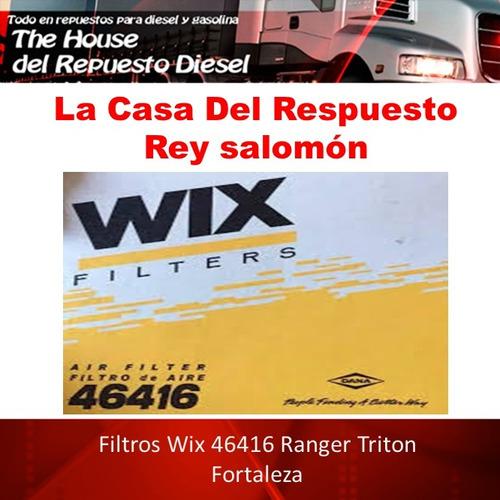 Filtros Wix 46416 Ranger Triton Fortaleza