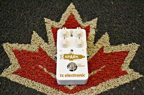 Pedal Tc Electronic Spark Booster Novo + Nf E Garantia!