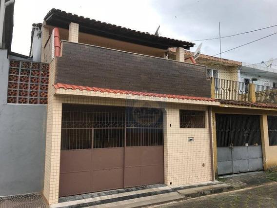 Casa Com 2 Dormitórios Para Alugar, 90 M² Por R$ 1.650,00/mês - Vila São Jorge - São Vicente/sp - Ca0368