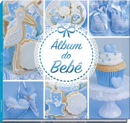 Álbum Do Bebê: Azul