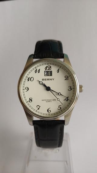 Relógio Masculino Vintage Clássico Berny