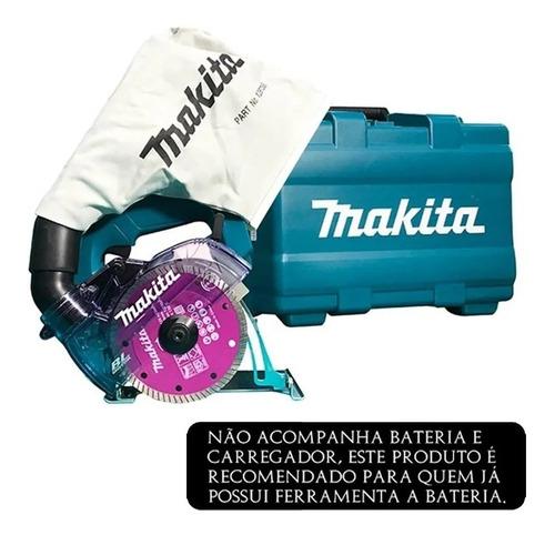 Serra Mármore Makita A Bateria 5 18v C/ Maleta Dcc500zkx1