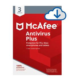 Mcafee Antivírus Plus 2019 Original Compre 1 Leve 3