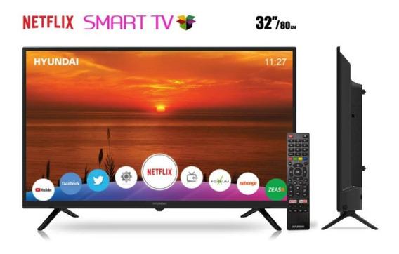 Smart Tv Led De 32 Hyundai Hy32nthb Hd Com Wi-fi