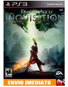 Dragon Age: Inquisition Deluxe Ps3 - Cod Psn - Envio Já