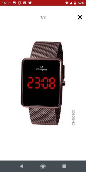 Relógio Digital Champion Nunca Usado. Com Garantia