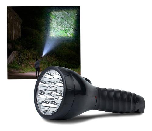 Lanterna Recarregavel Led Forte Potente Bivolt Super Premium