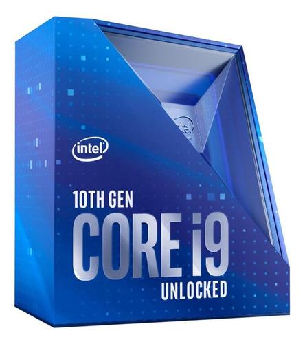 Imagem 1 de 3 de Processador Intel Core i9-10900K BX8070110900K de 10 núcleos e 3.7GHz de frequência com gráfica integrada