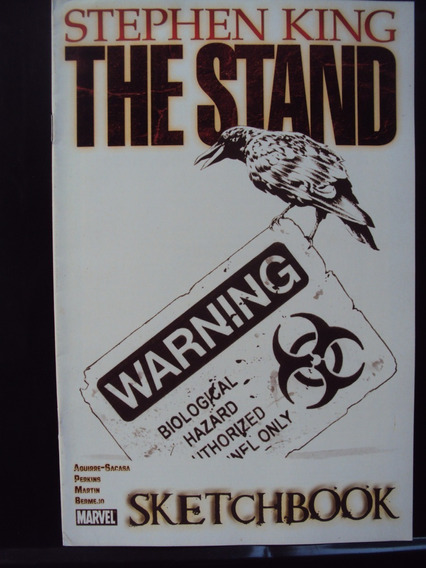 The Stand - Screetchbook - Stephen King - Importada