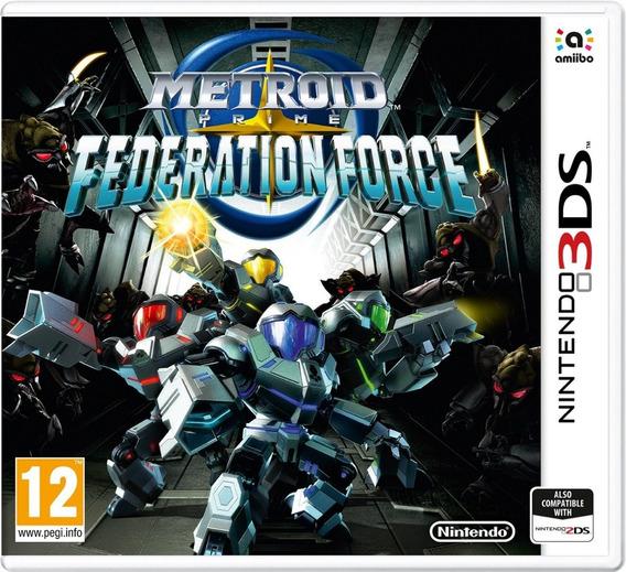 Metroid Prime: Federation Force Jogo Nintendo 3ds - Lacrado