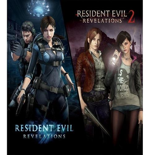 Resident Evil Revelations 1 + 2 Ps4 Entrega Ya - Xena Store