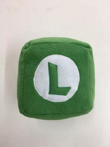 Imagen 1 de 1 de Peluche Cubo Luigi Marios Bros 18 Cm Combina + Envio Gratis