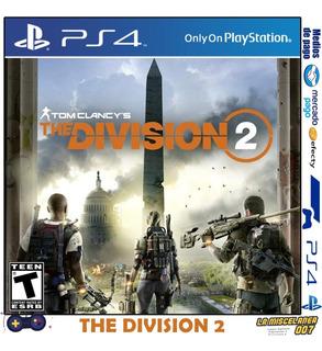 Tom Clancys The Division 2 Ps4 Digital | Cupo Secundario