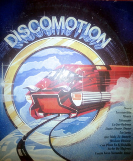 Discomotion Disco Vinilo Original Música De Los 80