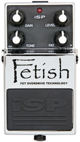 Pedal Overdrive/distortion Isp Fetish Fet