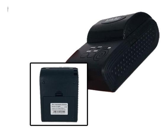 100 Mini Impressora Portatil Sem Fio Termica 58mm Android Io