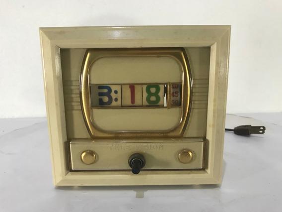 Reloj Digital Numechron Electric Vintage Años 50s Television