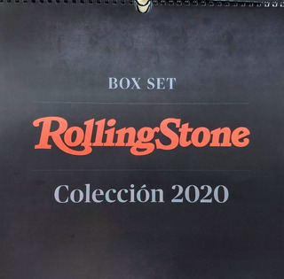 Calendario Rolling Stone Año 2020 - Box Set