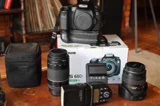 Canon 60d + Sigma 10-20 F3.5 + Canon 75-300 F4-5.6