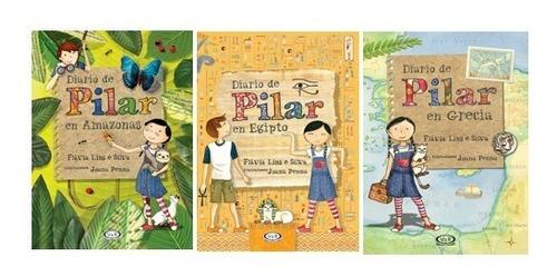 Imagen 1 de 5 de Pack Diario De Pilar (3 Libros) - Amazonas, Egipto Y Grecia