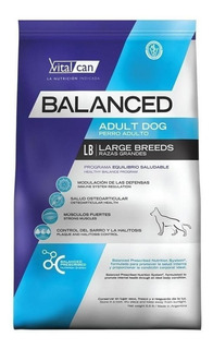 Alimento Vitalcan Balanced perro adulto raza gigante 20kg