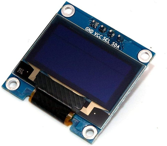 Display Gráfico Oled 128x64 0.96 I2c Serial Amarelo E Azul