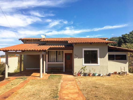 Casa Com 130 M², 03 Quartos Sendo Um Suíte - 544