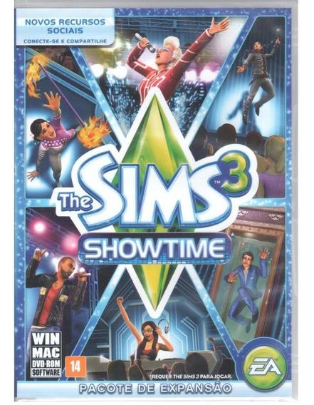 The Sims 3 Showtime Jogo Pc Original Mídia Física Lacrado