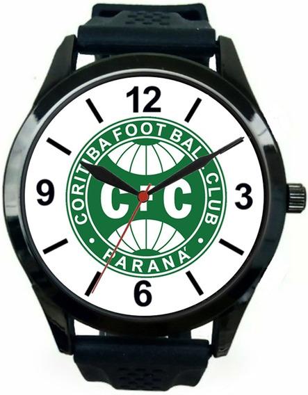 Relógio Pulso Esportivo Coritiba Personalizado Barato Oferta