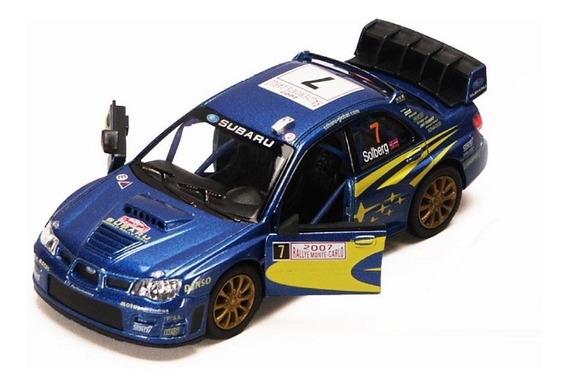 Subaru Impreza Rally Wrc Esc 1:36 Auto Coleccion Metal