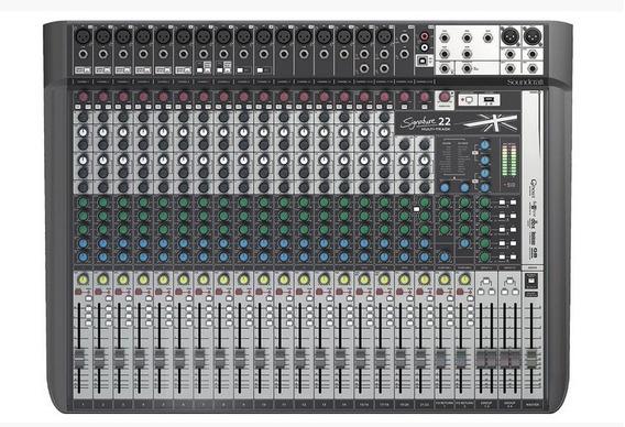 Mesa De Som Soundcraft Signature 22mtk (34092)
