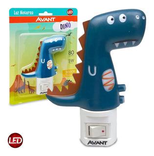 Luz Noturna Led 1w Bivolt Dino Avant