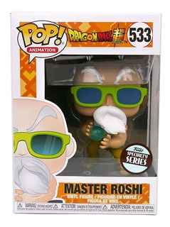 Funko Pop Master Roshi 533 / Dragon Ball Super / Especial
