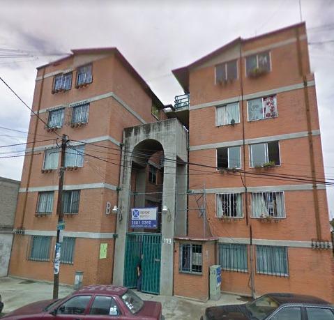 Departamento En Remate Bancario En Av. Central Tepalcates