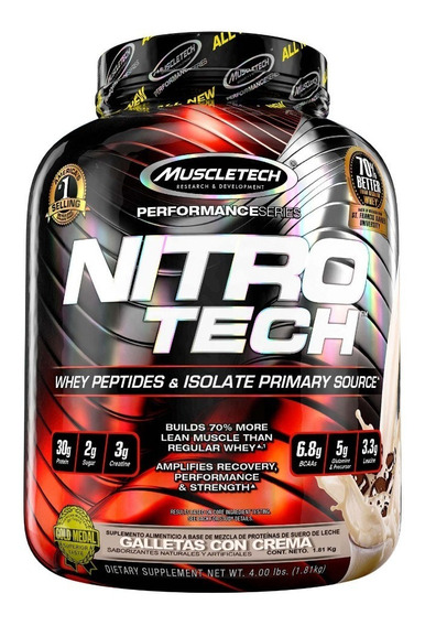 Proteina Muscletech Nitrotech Performance Series 4 Libras