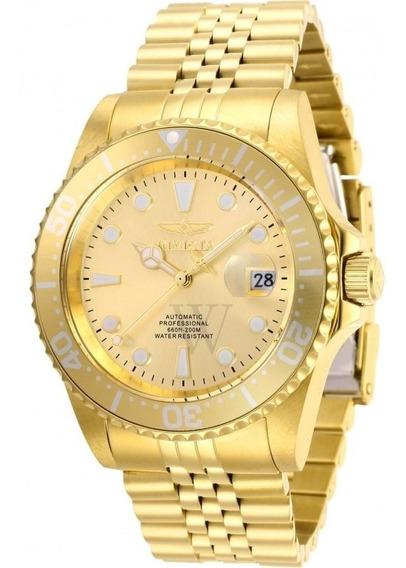 Relógio Invicta Pro Diver Automático Champanhe-30096