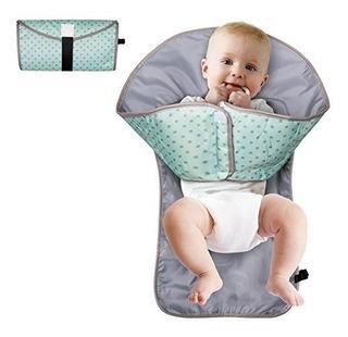 Cambiador Portatil De Bebe 3 En 1 Manos Limpias Pañales Bebe