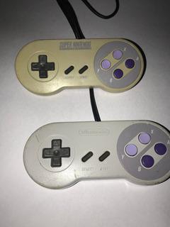 Palancas Controles De Súper Nintendo