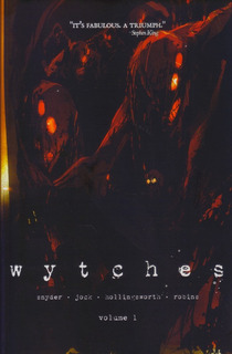 Hq Encadernada Wytches Vol. 1 Capa Variante Image Em Inglês