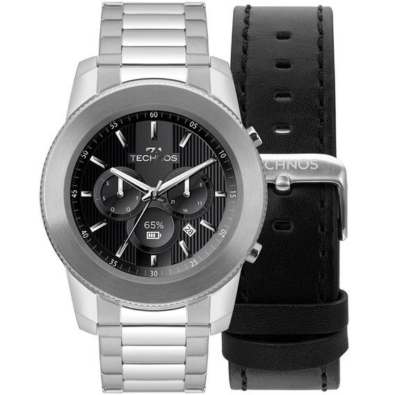 Relógio Technos Connect 3+ Prata M1aa/1p