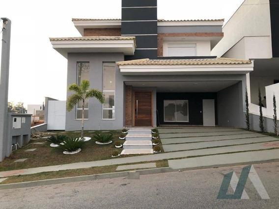 Estuda Permuta - Sobrado Com 3 Dormitórios À Venda, 296 M² Por R$ 1.380.000 - Condomínio Chácara Ondina - Sorocaba/sp - So0863