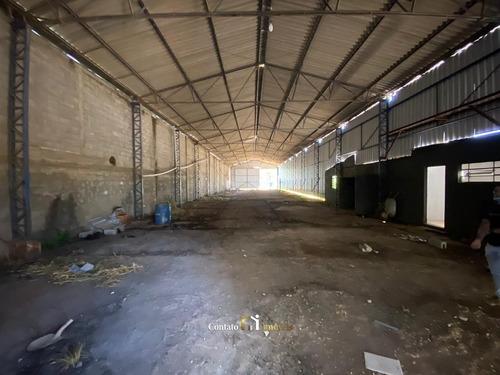 Imagem 1 de 12 de Galpão Industrial Para Locação Em Atibaia - Ga0014-2